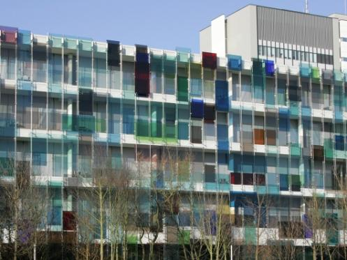 Building on the Novartis Campus by Diener & Diener in collaboration with Gerold Wiederin and Helmut Federle.