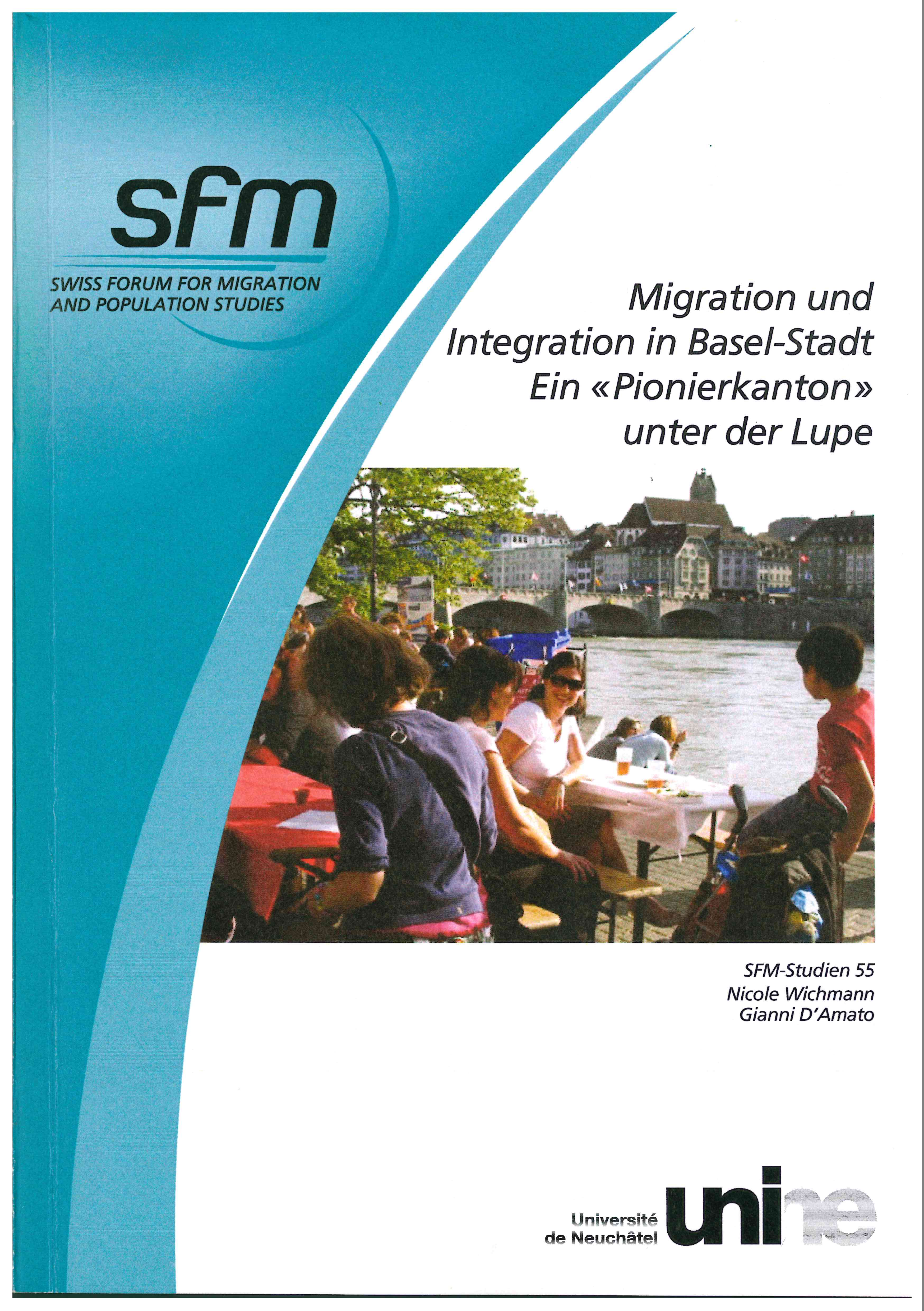 Cover der Studie Migration und Integration in Basel-Stadt