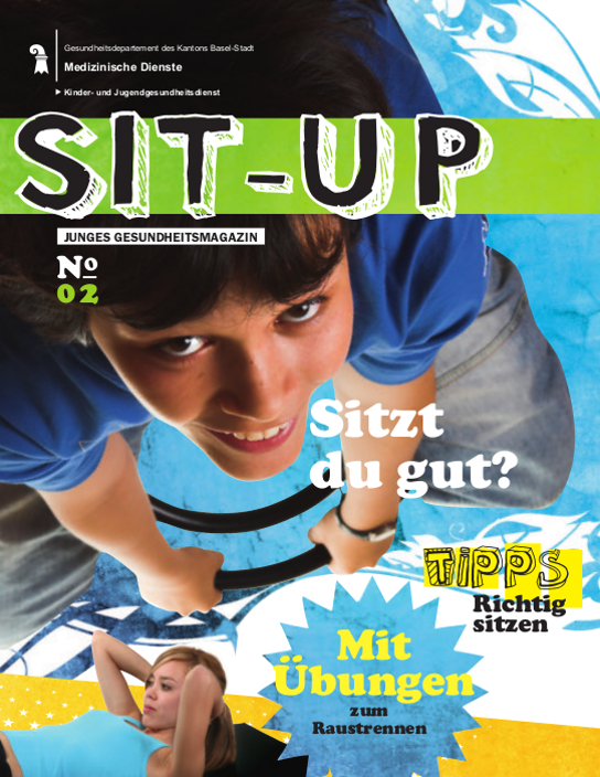 Deckblatt Jugendmagazin Sit up