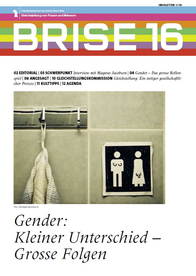 Titelbild der BRISE 16: Gender